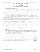 Tài liệu bồi dưỡng HSG Địa lí 9 (phần địa lí tự nhiên VN).