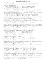 Bài tập pH hay và khó
