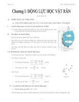 tóm tắt toàn bộ kiến thức vật lý lớp 12 kỳ 1