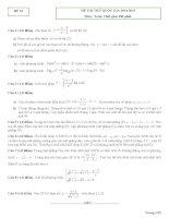 25 ĐỀ THI THỬ TOÁN QUỐC GIA 2015 môn toán