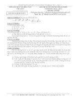 bộ đề thi vào lớp 10 môn toán của 60 tỉnh thành