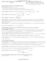 Đề thi thử đại học lần 3 toán khối  D trường THPTChuyên Quốc Học Huế năm 2013 và 2014 có đáp án