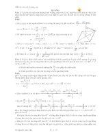 tuyển chọn các bài toán vật lý nâng cao phần quang