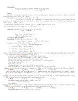 Tuyển tập Phản ứng OXH-KHỬ hay