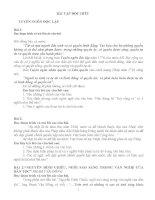 Bài tập đọc hiểu ngữ văn 12