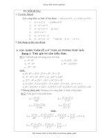 chuyên đề toán lũy thừa toán lớp 6