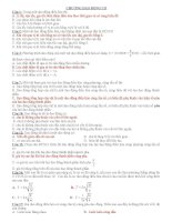tổng hợp  bài tập vật lý lớp 12 các chương
