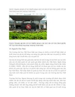tạp chí kinh tế đối ngoại đề tài  THỰC TRẠNG QUẢN LÝ VÀ TRIỂN KHAI CÁC DỰ ÁN CÓ TÀI TRỢ QUỐC TẾ TẠI TRƯỜNG ĐẠI HỌC NGOẠI THƯƠNG