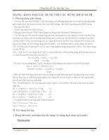 Dạng bài tập kim loại tác dụng với dung dịch muối