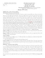 Bộ đề thi kiểm tra Văn 8