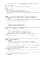 Tài liệu bồi dưỡng HSG môn Địa lí 9