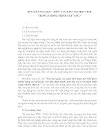 Rèn kỹ năng đọc - hiểu văn bản cho học sinh trong chương trình ngữ văn 7
