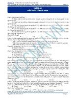 Đề Quốc Gia hóa 2015 số 14 Hocmai.vn
