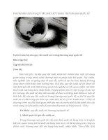 tạp chí kinh tế đối ngoại đề tài  VAI TRÒ BẢO HỘ CỦA QUY TẮC XUẤT XỨ TRONG THƯƠNG MẠI QUỐC TẾ