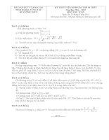 tuyển tập bộ đề thi môn toán vào lớp 10.doc
