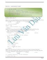 Phân dạng và giải chi tiết cacbohidrat và polime