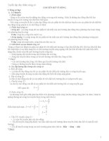 Lý thuyết và các dạng bài tập sóng cơ