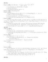 41 đề thi HSG Toán 9 (có đáp án)