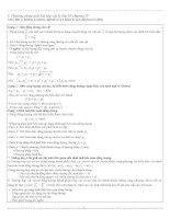 Phương pháp giải bài tập vật lý lớp 10 chương IV