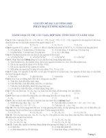 - Chuyên đề bài tập trắc nghiệm tổng hợp Đại cương Kim loại + liên quan đến đề thi ĐH từ 2007 đến nay.PDF