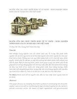 tạp chí kinh tế đối ngoại đề tài NGUỒN VỐN CHO PHÁT TRIỂN KINH TẾ TƯ NHÂN - KINH NGHIỆM CHÍNH SÁCH CỦA ÚC VÀ BÀI HỌC CHO VIỆT NAM