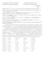 Tổng hợp đề thi thử đại học môn Tiếng Anh mới nhất