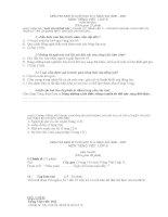 Đề kiểm tra định kì lần 4 môn tiếng Việt lớp 3