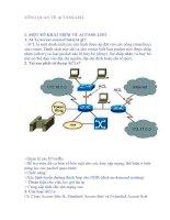 Tổng quan về Access List