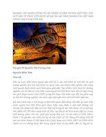 tạp chí kinh tế đối ngoại đề tài NGHIÊN CỨU ĐỊNH LƯỢNG VỀ CÁC NHÂN TỐ ẢNH HƯỞNG ĐẾN VIỆC THU HÚT ĐẦU TỪ TRỰC TIẾP NƯỚC NGOÀI TẠI CÁC TỈNH THÀNH CỦA VIỆT NAM TRONG GIAI ĐOẠN HIỆN NAY