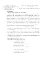 Đề thi thử THPT Quốc gia lần 1 năm 2015 môn Ngữ văn trường THPT Thị xã Quảng Trị, Quảng Trị