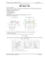 Thiết kế mố cầu kiểu chữ U BTCT. Cầu gồm hai mố được kê trực tiếp kết cấu nhịp, gối cầu bằng cao su kích thước gối cầu: + Gối gồm 4 lớp bản thép + Dọc cầu 310mm + Ngang cầu 460mm + Cao 50mm.