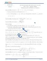 Đề thi thử số 4 môn toán kỳ thi Trung Học Phổ Thông quốc gia năm 2015