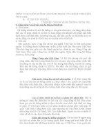 THẢO LUẬN MÔN ĐƯỜNG LỐI CÁCH MẠNG CỦA ĐẢNG CỘNG SẢN VIỆT NAM