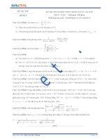 Đề thi thử số 5 môn toán kỳ thi Trung Học Phổ Thông quốc gia năm 2015