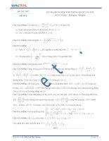Đề thi thử số 2 môn toán kỳ thi Trung Học Phổ Thông quốc gia năm 2015