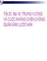Bai 18 Trung vuong va cuoc khang chien chong quan xamluoc Han