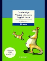 Cambridge Young Learners English Test Movers