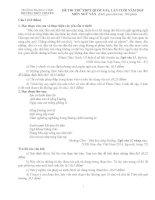 ĐỀ THI THỬ THPT QUỐC GIA LẦN CUỐI NĂM 2015 MÔN NGỮ VĂN có đáp án chi tiết