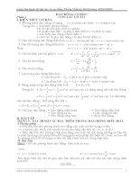 ôn thi đại học theo chủ đề, môn vật lý