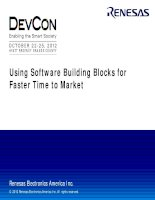 Using Software Building Blocks for Faster Time to Market (1)
