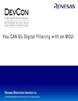 You CAN Do Digital Filtering with an MCU!