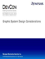 Graphic System Design Considerations (1)