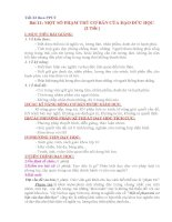 Giáo án tích hợp nội dung phòng chống tham nhũng trong môn GDCD lớp 10   bai 11 một số phạm trù cơ bản của đạo đức học   tiết 1