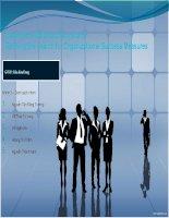 Thuyết trình môn Quản trị nguồn nhân lực Beyond the balanced scorecard Balanced Scorecard (Thẻ cân bằng điểm)