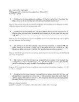 Đề cương ôn tập Những nguyên lý cơ bản của Chủ nghĩa Mác Lênin HP2