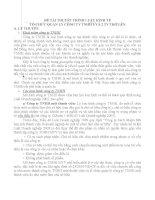 Tiểu luận môn luật kinh tế TỔ CHỨC QUẢN LÝ CÔNG TY TNHH 1 VÀ 2 THÀNH VIÊN TRỞ LÊN