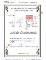 Vật lý 12 chuyên đề Dòng điện xoay chiều