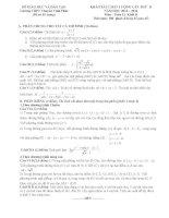 Đề thi  Khảo sát chất lượng lần II môn toán khối D trường THPT chuyên Vĩnh Phúc năm 2013,2014