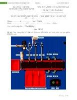ĐỒ ÁN: Ứng  dụng PLC S7200 của Siemens điều khiển mô hình phân loại sản phẩm