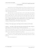 luận văn quản trị  nhân lực  Công tác tuyển dụng, đào tạo nguồn nhân lực tại Chi Nhánh Công ty TNHH Lotteria Việt Nam